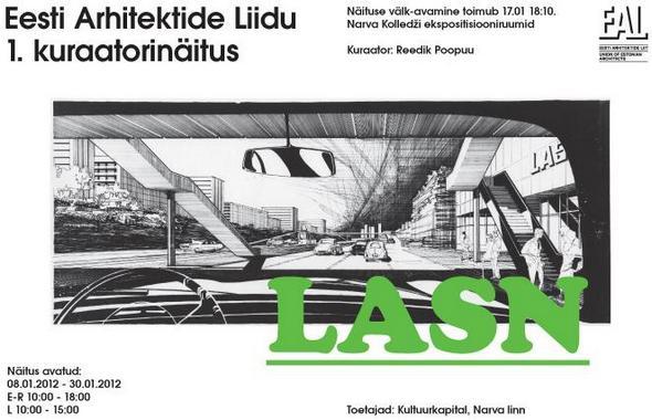 Eesti arhitektide liidu aastanäitus lasn taasavatakse narvas